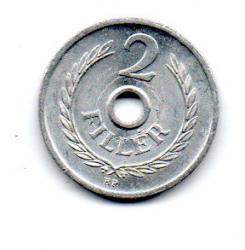 Hungria - 1973 - 2 Fillér