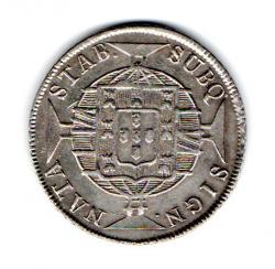 1820 - 320 Réis - Prata - Moeda Brasil Reino