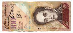 Venezuela - 100 Bolívares - Cédula Estrangeira - UTG