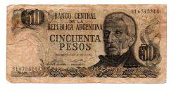 Argentina - 50 Pesos - Cédula Estrangeira - Regular (R)