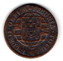 1820R - X Réis - Moeda Brasil Reino