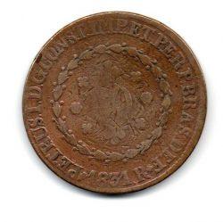 1831 - 80 Réis - Petrus I - Moeda Brasil Império