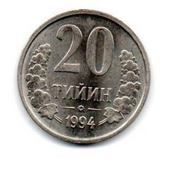 Uzbequistão - 1994 - 20 Tiyin