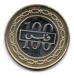 Bahrain - 2008 - 100 Fils - Sob/Fc