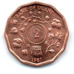 Uganda - 1987 - 2 Shillings