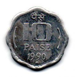 Índia - 1990 - 10 Paise