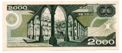 México - 2000 Pesos - Cédula Estrangeira