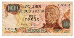 Argentina - 1000 Pesos - Cédula Estrangeira - MBC