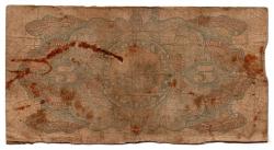 Paraguai - 1923 - 5 Pesos Fuertes - Cédula Estrangeira