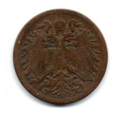 Monarquia Austro-Húngara - 1897 - 2 Heller