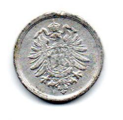 Alemanha Império - 1917F - 1 Pfennig