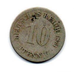 Alemanha Império - 1874 - 10 Pfennig