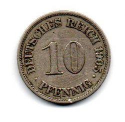 Alemanha Império - 1905A - 10 Pfennig