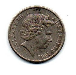 Austrália - 2001 - 5 Cents