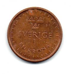 Suécia - 2016 - 1 Krona