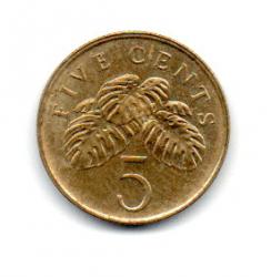 Cingapura - 2005 - 5 Cents
