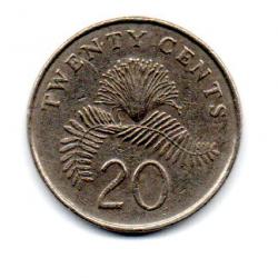 Cingapura - 1987 - 20 Cents