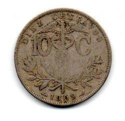 Bolívia - 1909 - 10 Centavos