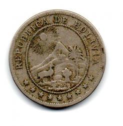 Bolívia - 1935 - 10 Centavos