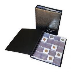 Pasta para 600 moedas - comporta coin holders / Moedas - Com Plásticos
