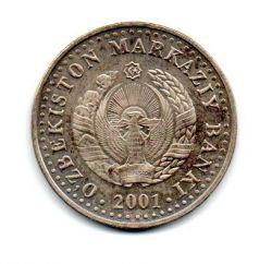 Uzbequistão - 2001 - 50 Som Comemorativa (10º aniversário da independência do Uzbequistão)