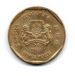 Cingapura - 1989 - 1 Dollar