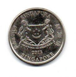 Cingapura - 2013 - 20 Cents