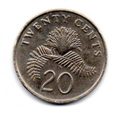 Cingapura - 1988 - 20 Cents