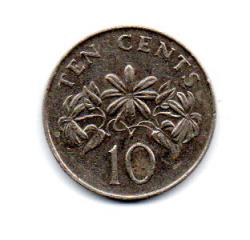 Cingapura - 1986 - 10 Cents