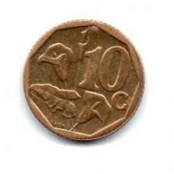 África do Sul - 2010 - 10 Cents