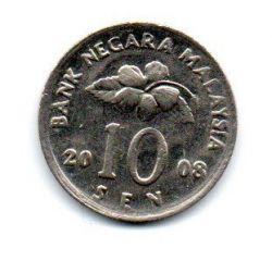 Malasia - 2008 - 10 Sen