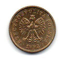 Polônia - 1992 - 1 Grosz
