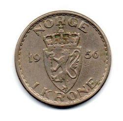Noruega - 1956 - 1 Krone
