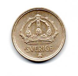 Suécia - 1950 - 25 Ore - Prata .400 - Aprox 2,3g - 17 mm