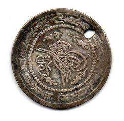 Turquia (Império Turco-Otomano) - 1836 - 6 Kurus - Prata .435 - Aprox. 11,6g - 36mm