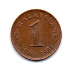 Malásia - 1988 - 1 Sen