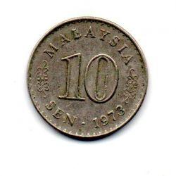 Malásia - 1973 - 10 Sen