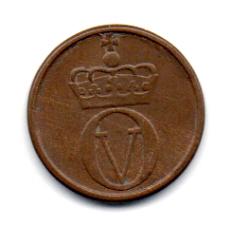 Noruega - 1961 - 1 Ore