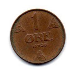Noruega - 1938 - 1 Ore