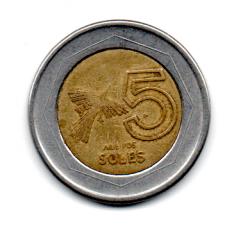 Peru - 2001 - 5 Nuevos Soles