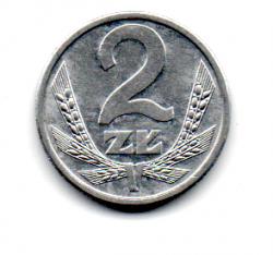 Polônia - 1990 - 2 Zlote