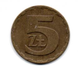 Polônia - 1976 - 5 Zlotych