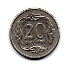 Polônia - 1992 - 20 Groszy