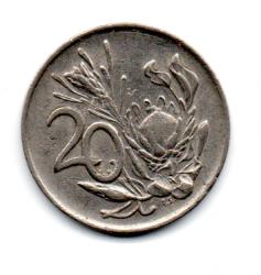 África do Sul - 1977 - 20 Cents