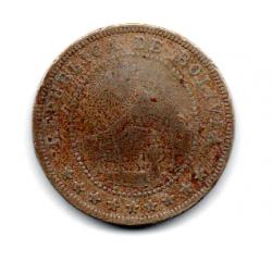 Bolívia - 1909 - 5 Centavos