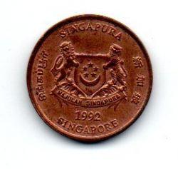 Cingapura - 1992 - 1 Cent