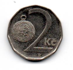 República Tcheca - 2002 - 2 Koruny