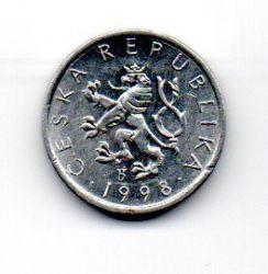 República Tcheca - 1998 - 10 Haleru