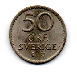 Suécia - 1969 - 50 Ore