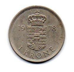 Dinamarca - 1978 - 1 Krone